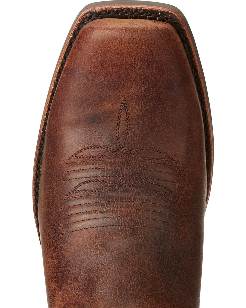Ariat Men's Palo Duro Western Boots, Brown, hi-res