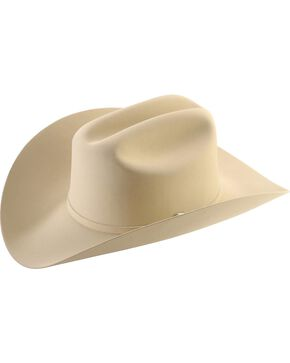 Larry Mahan 6X Real Fur Felt Cowboy Hat, Belly, hi-res