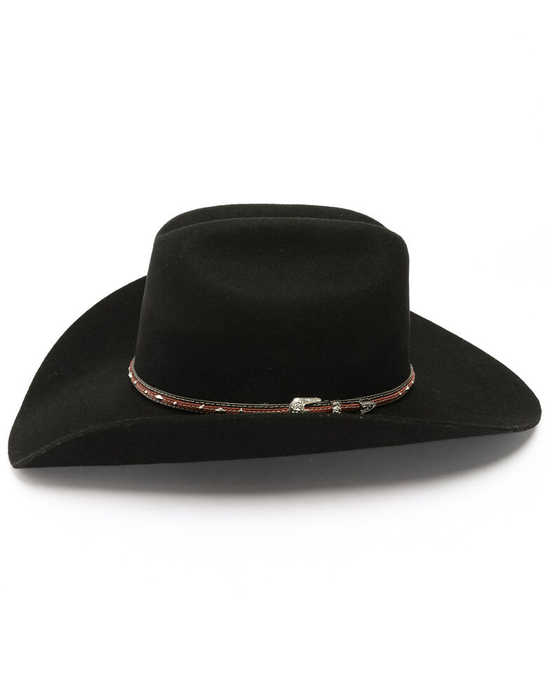 Cody James Boys' Range Rider Cowboy Hat , Black, hi-res