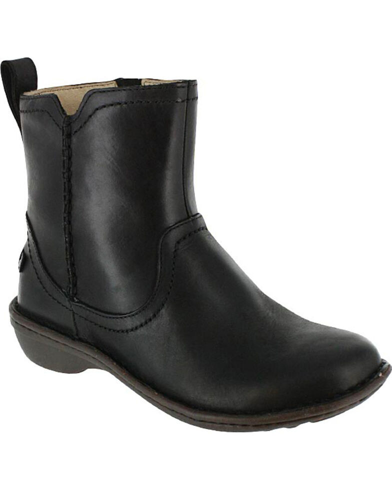 aed838e069f UGG Women's Black Neevah Short Boots - Round Toe