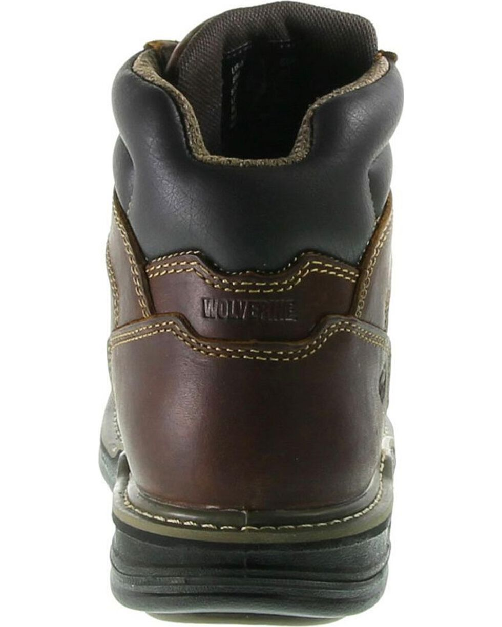 "Wolverine Men's Raider Multi Shox 6"" Work Boots, Brown, hi-res"