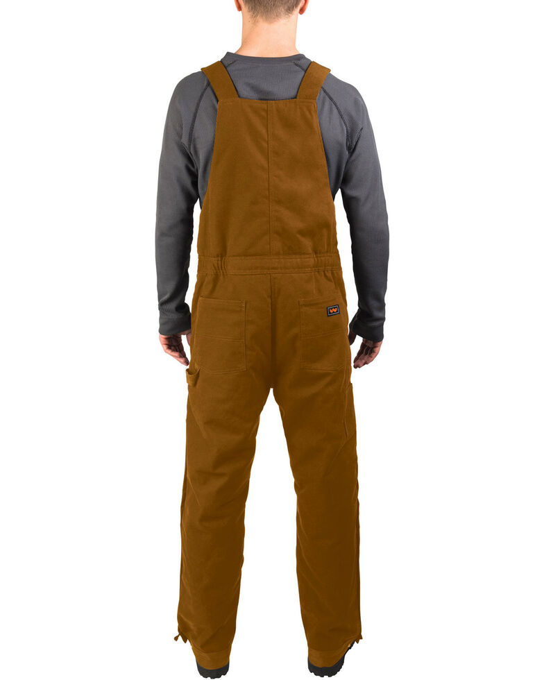 Walls Men's Brown Frost Blizzard Pruf Insulated Bib Overalls - Big & Tall, Pecan, hi-res
