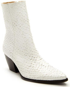 Matisse Women's Caty White Fashion Booties - Round Toe, White, hi-res