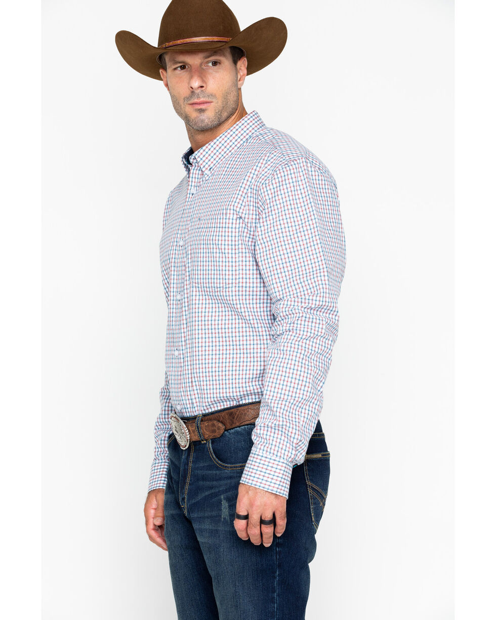 Cody Core Men's Plaid Long Sleeve Grey's Peak Shirt , , hi-res