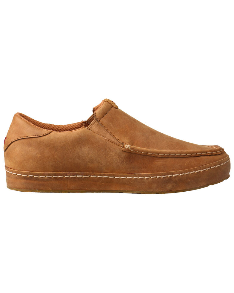 Twisted X Men's Casual Western Sneakers - Moc Toe, Tan, hi-res