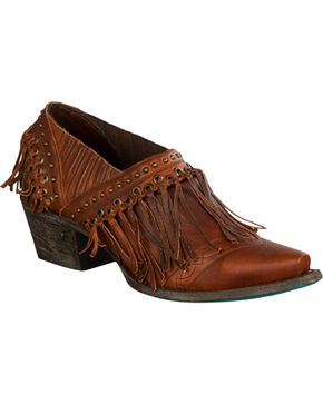 Lane Women's Fringe Fries Shoes, Chili, hi-res