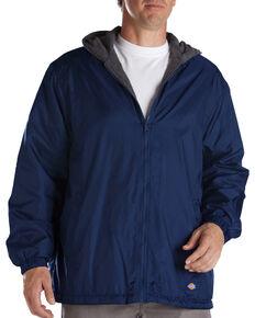 Dickies Fleece Lined Hooded Jacket, Navy, hi-res