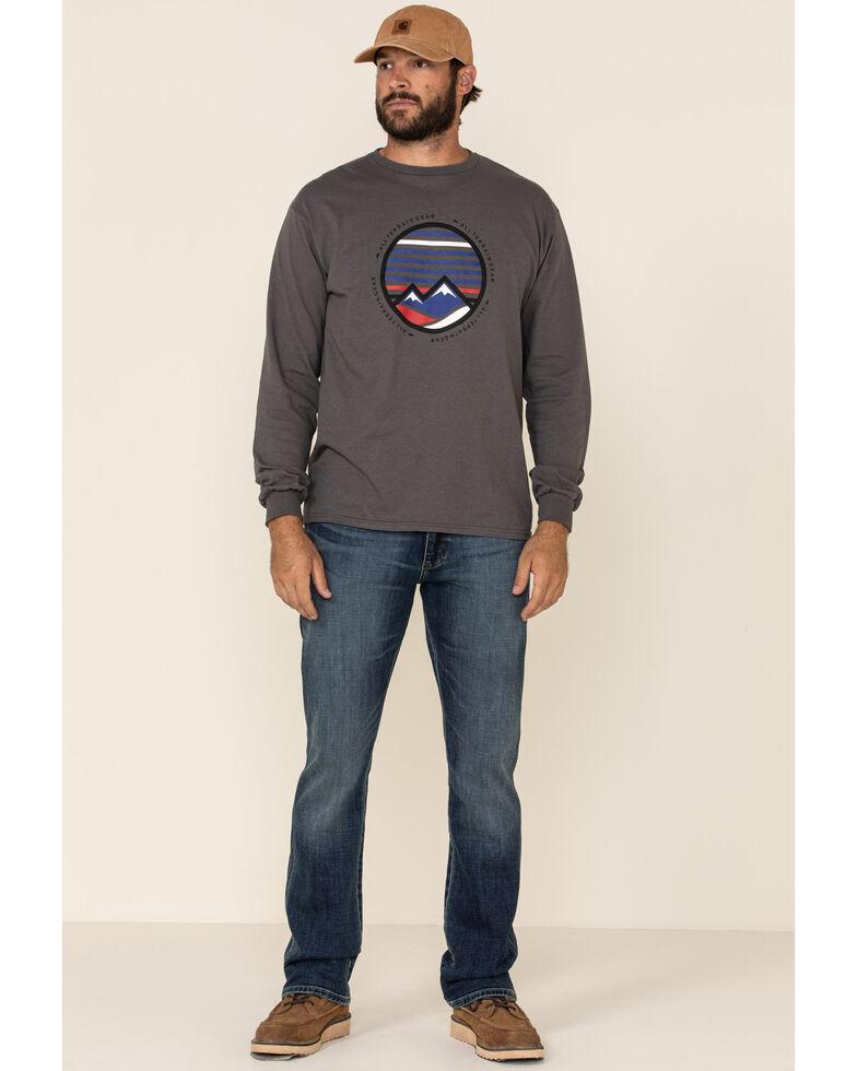 Wrangler Retro Premium Men's Santa Elena Stretch Slim Bootcut Jeans , Blue, hi-res