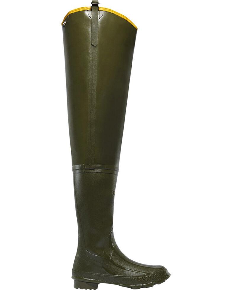 """LaCrosse Men's Big Chief 32"""" Wader Boots, Green, hi-res"""