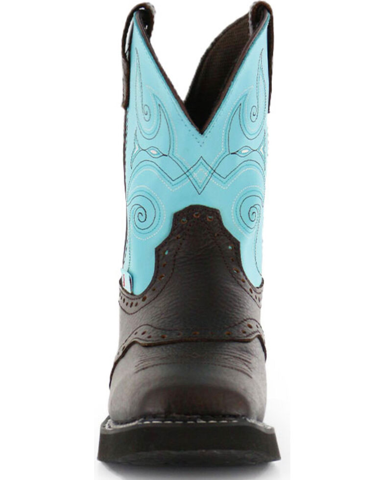 2e91ff2108b Justin Gypsy Women's Brown Leather Cowgirl Boots - Square Toe