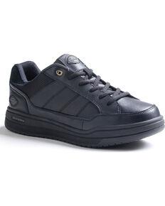 Dickies Women's Slip Resistant Athletic Skate Work Shoes, Black, hi-res