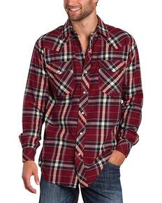 fe67a12fdb Resistol Double R Men's Gillete Plaid Long Sleeve Shirt