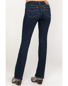 Levi's Women's 715 Wash Out Vintage Bootcut Jeans, Blue, hi-res