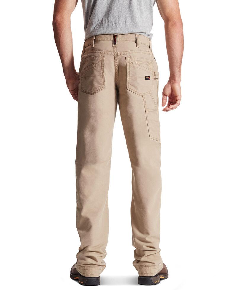 Ariat Men's FR M4 Workhorse Relaxed Fit Pants, Khaki, hi-res