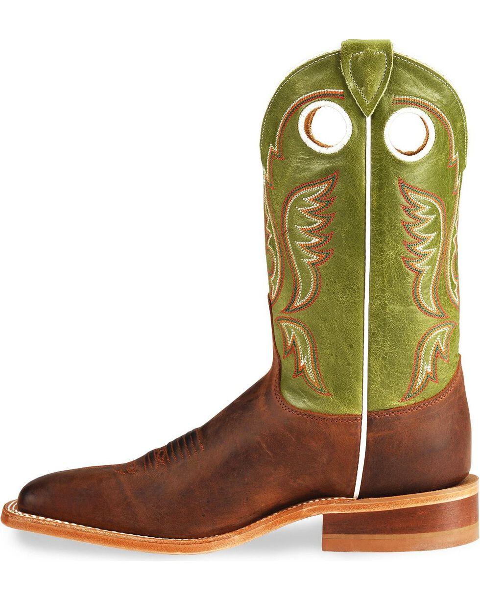 Justin Men's Bent Rail Collection Western Boots, Cognac, hi-res