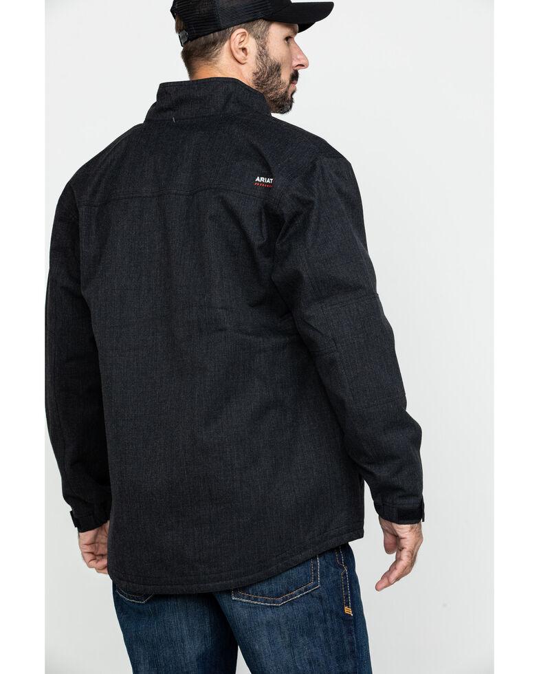 Ariat Men's FR H20 Waterproof Work Parka - Tall , Black, hi-res
