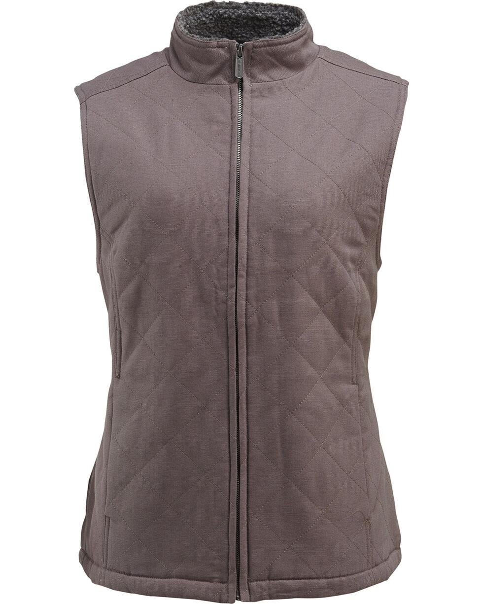 Wolverine Women's Belmont Vest , Dark Grey, hi-res