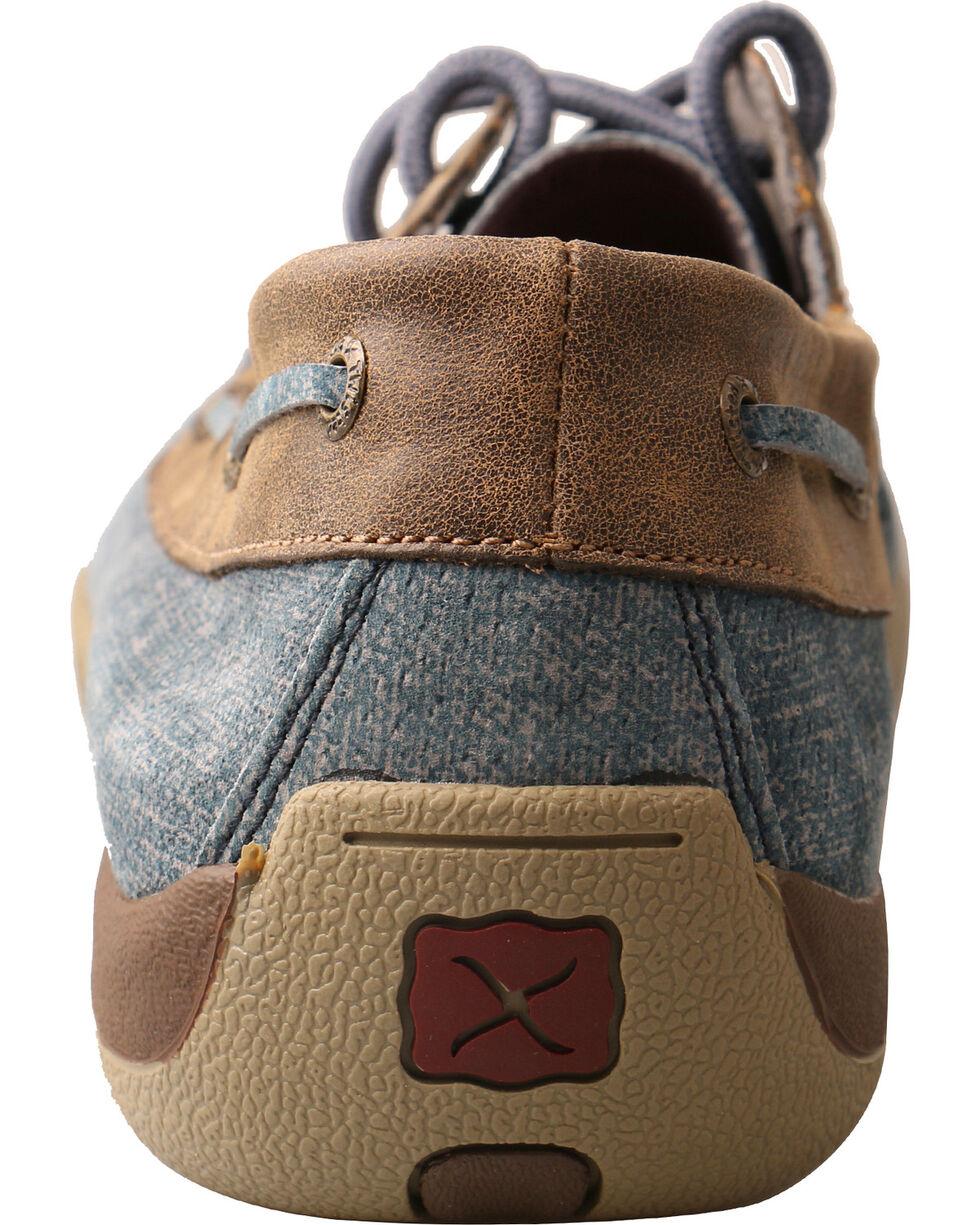 Twisted X Men's Denim Driving Moc Shoes, Multi, hi-res