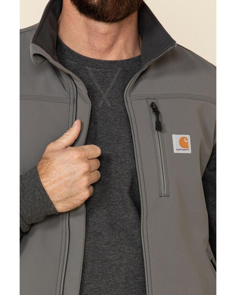 Carhartt Men's Charcoal Denwood Work Vest - Big , Charcoal, hi-res