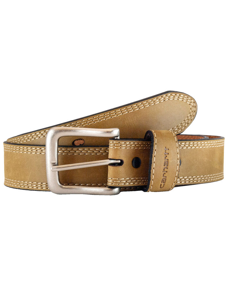 Carhartt Men's Detroit Work Belt, Brown, hi-res