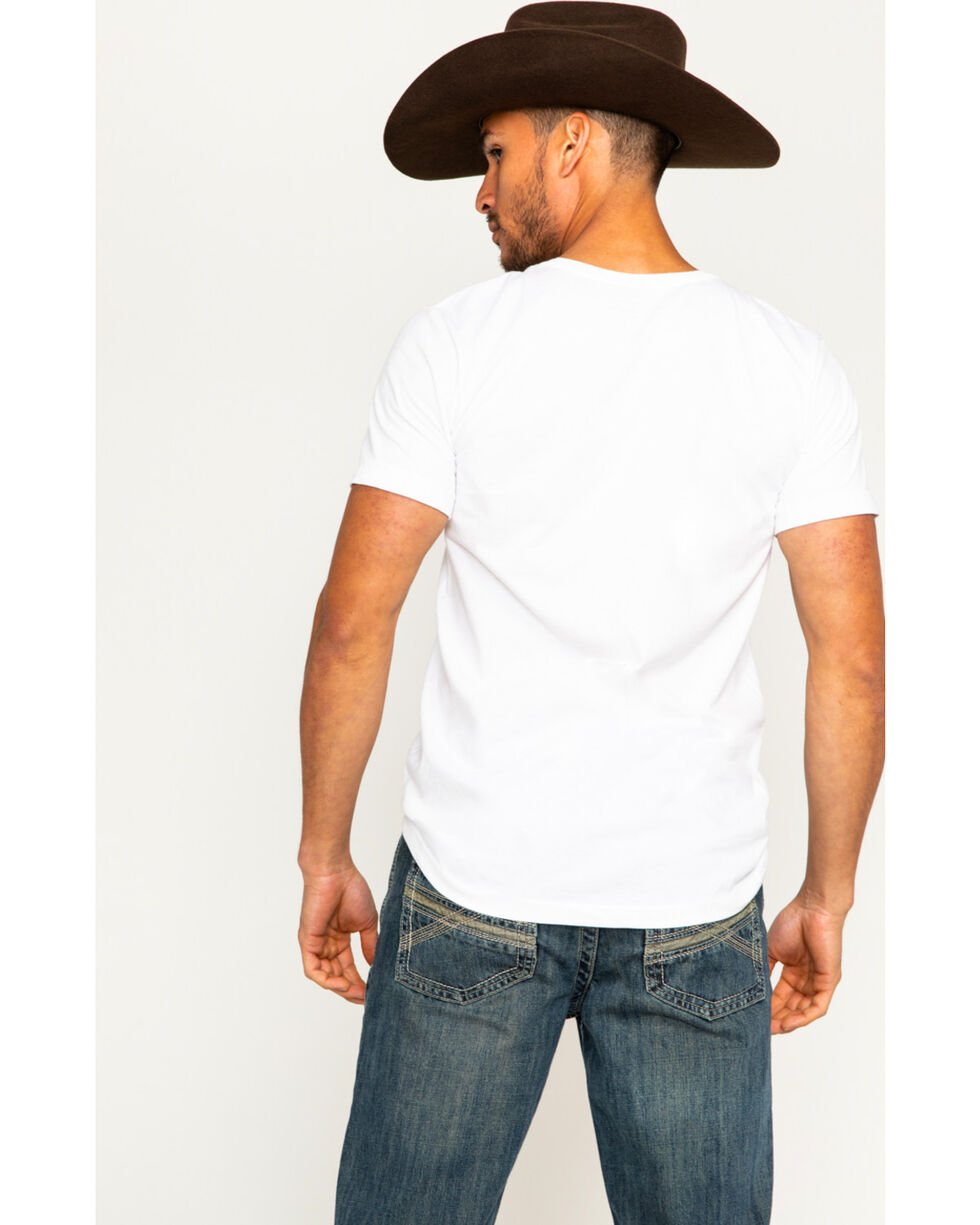 Cody James Men's American Mountains Tee, White, hi-res