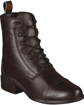 Ariat Women's Heritage III Paddock Boots, Chocolate, hi-res