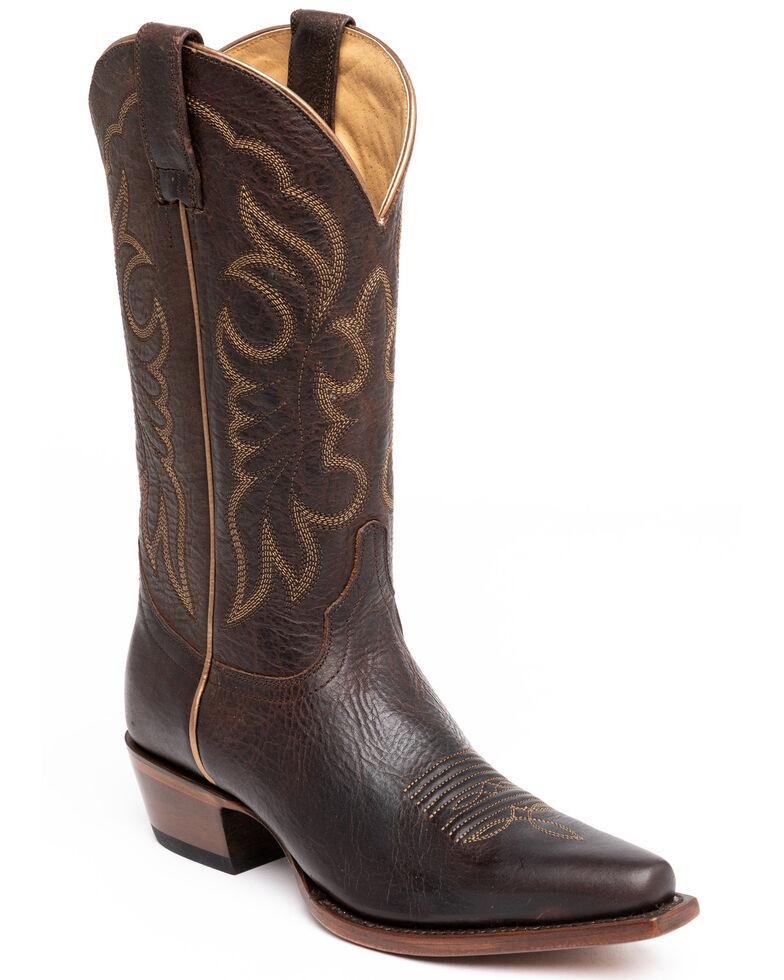Shyanne Women's Dana Western Boots - Snip Toe, Brown, hi-res
