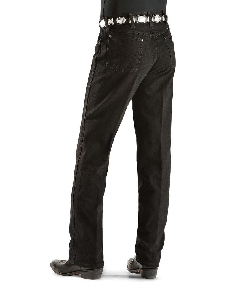 Wrangler Original Fit Men's Silver Edition Jeans, Black Denim, hi-res