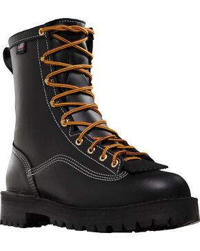 Danner Men's Super Rain Forest GTX® Insulated Work Boots, Black, hi-res