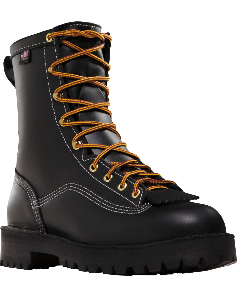 Danner Men's Super Rain Forest GTX® Insulated Work Boots, Black, hi-res