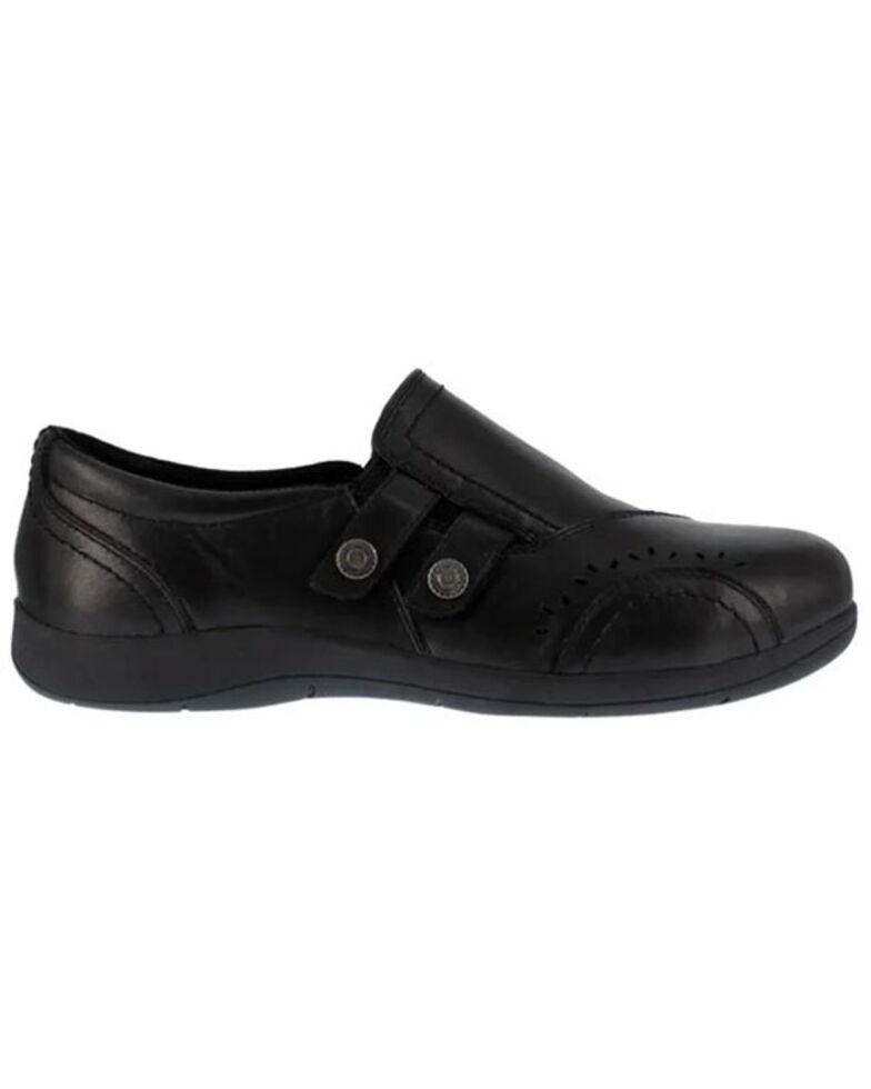 Rockport Women's Daisey Work Shoes - Steel Toe, Black, hi-res