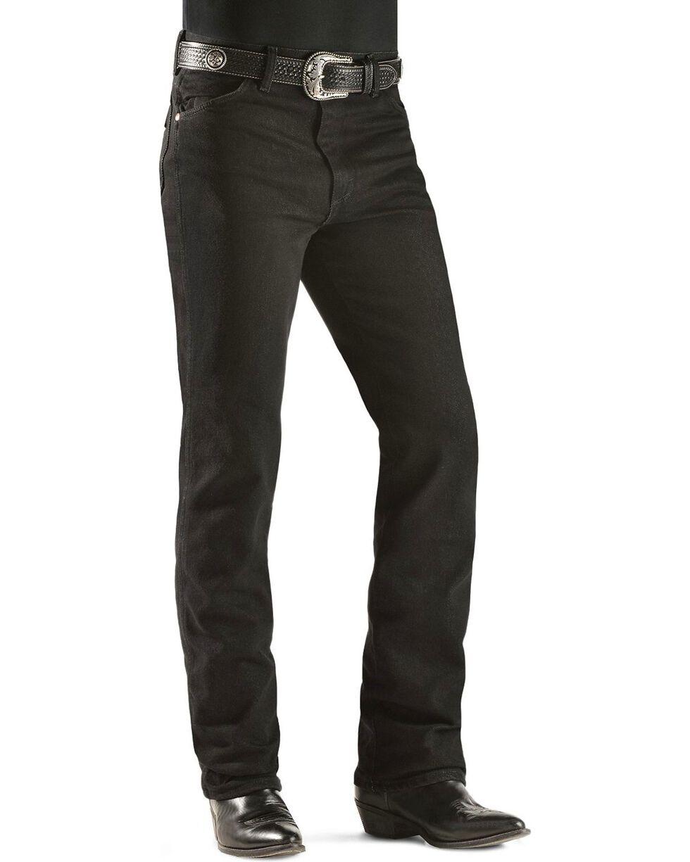 Wrangler Men's Slim Fit Cowboy Cut Jeans, Black, hi-res