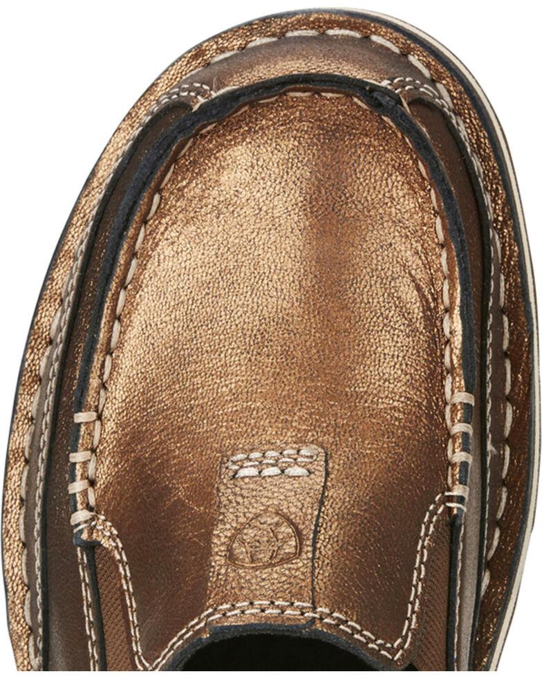 Ariat Women's Metallic Cruiser Slip-on Shoes, Gold, hi-res