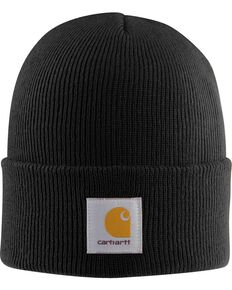 Carhartt Acrylic Black Watch Hat, Black, hi-res