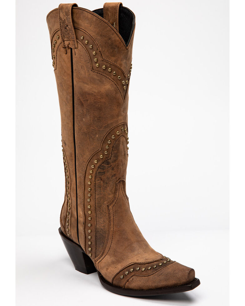 Idyllwind Women's Rite A Way Western Boots - Snip Toe, Brown, hi-res