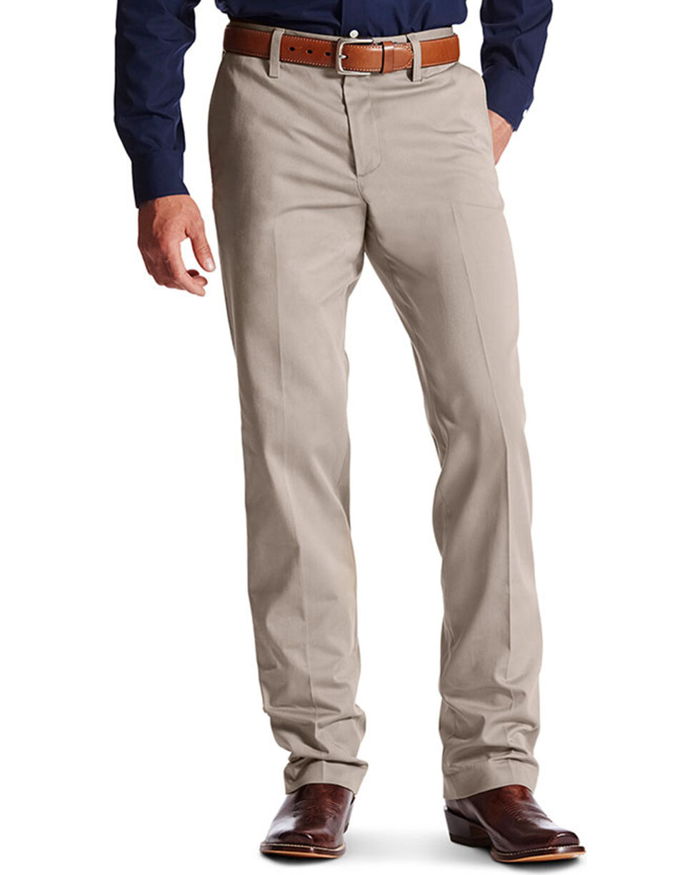 Ariat Men's M2 Performance Khakis, Grey, hi-res