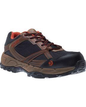 Wolverine Men's Rush ESD Work Shoes - Composite Toe, Brown, hi-res