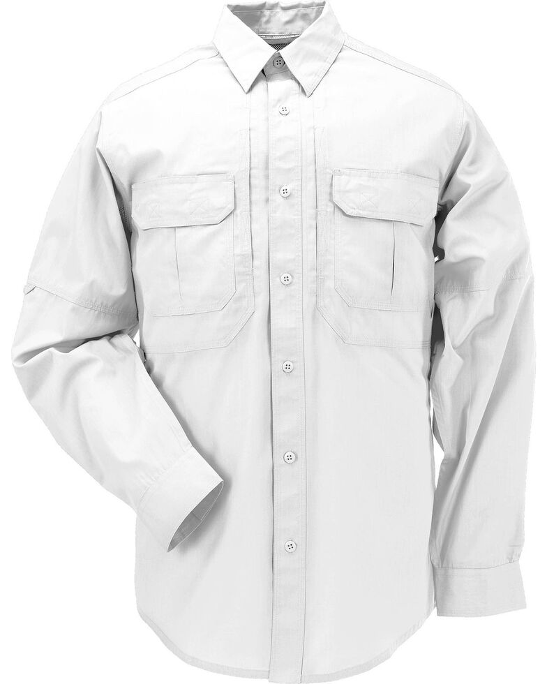 5.11 Tactical Taclite Pro Long Sleeve Shirt - 3XL, White, hi-res