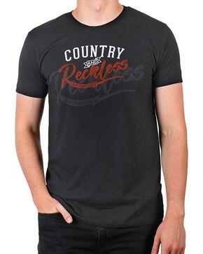 Cody James® Men's Country & Reckless T-Shirt, Black, hi-res