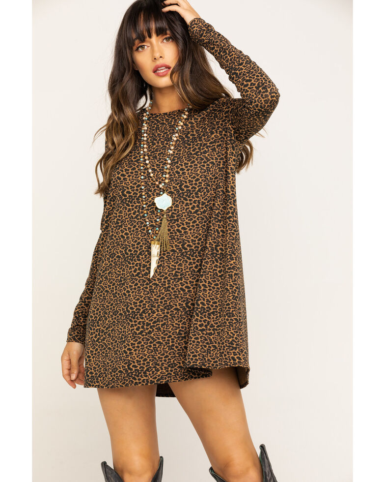 Show Me Your Mumu Women's Nice To Cheetah Stretch Toby Dress, Multi, hi-res