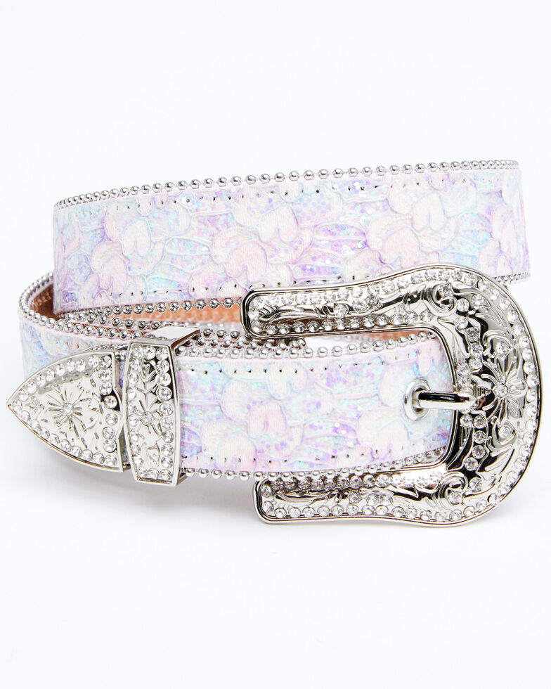 Shyanne Girls' Sparkle Belt, Multi, hi-res