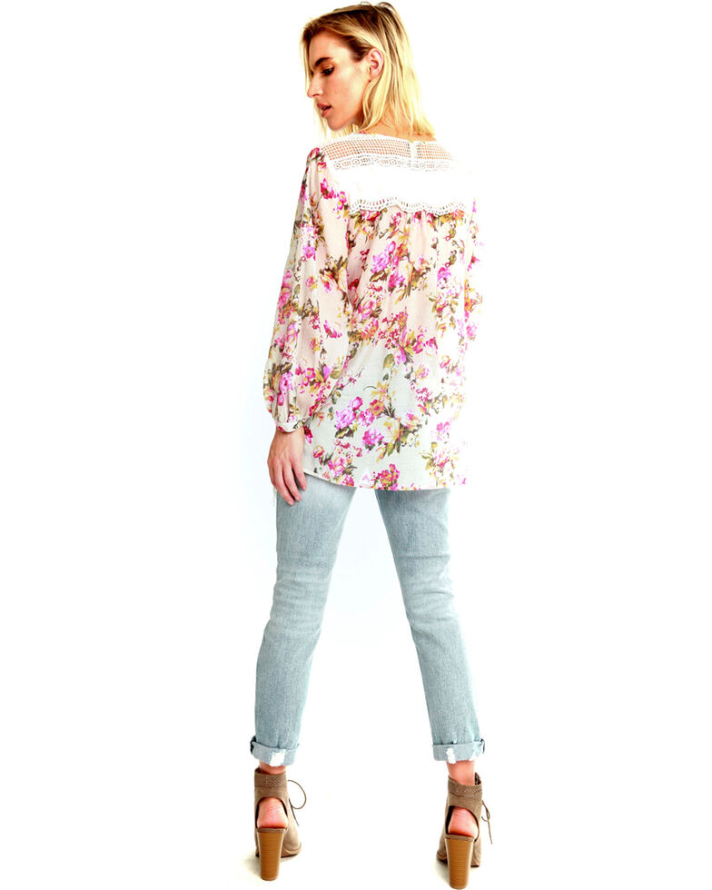 Aratta Women's Love She Gave Top, Multi, hi-res
