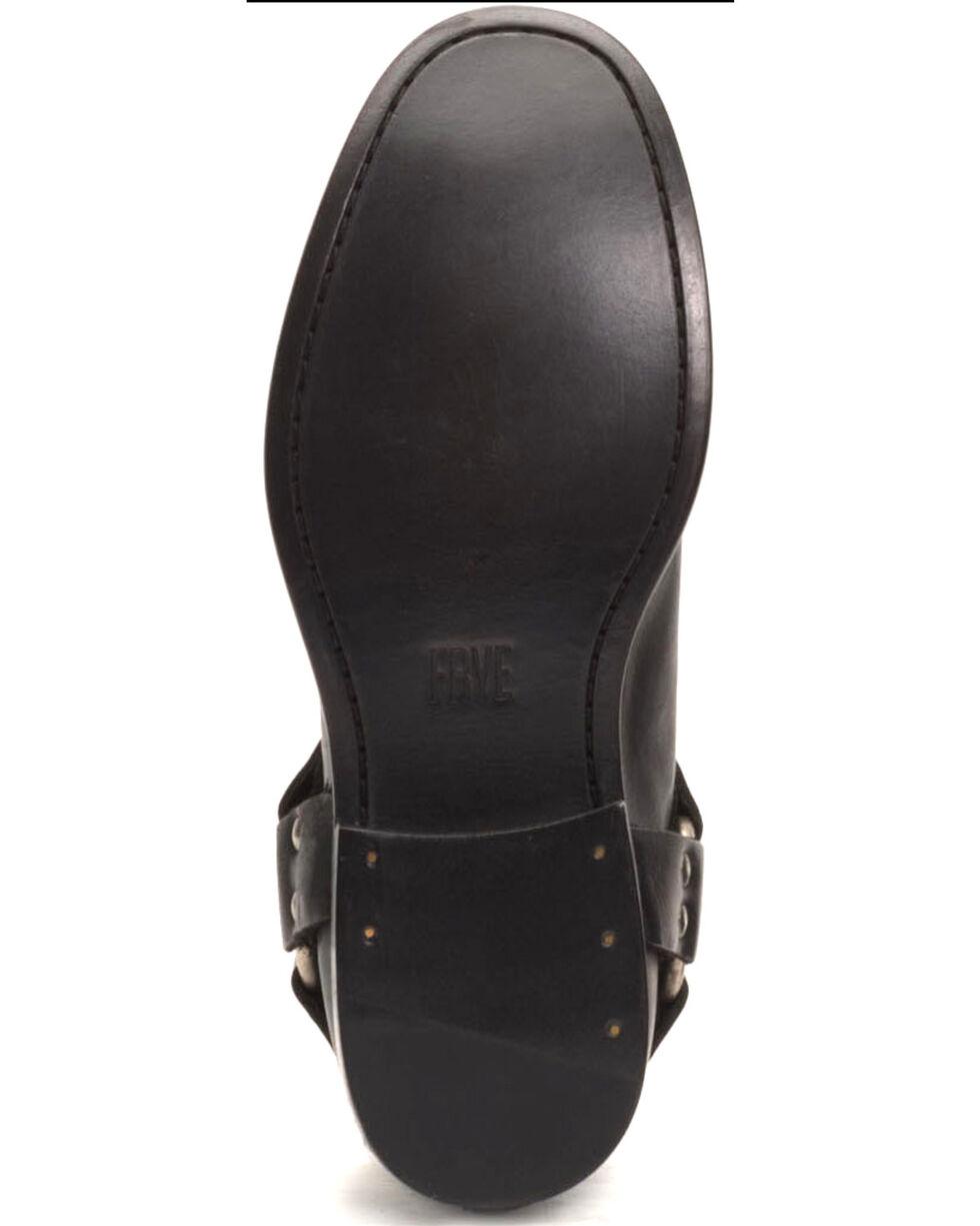Frye Women's Black Phillip Harness Booties - Round Toe , Black, hi-res