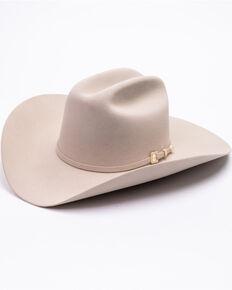 Stetson Men's 6X Guadalupana Felt Western Cowboy Hat , Silver, hi-res