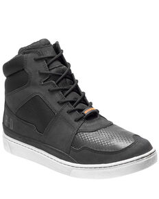 Harley Davidson Men's Eagleson Waterproof Moto Shoes, Black, hi-res