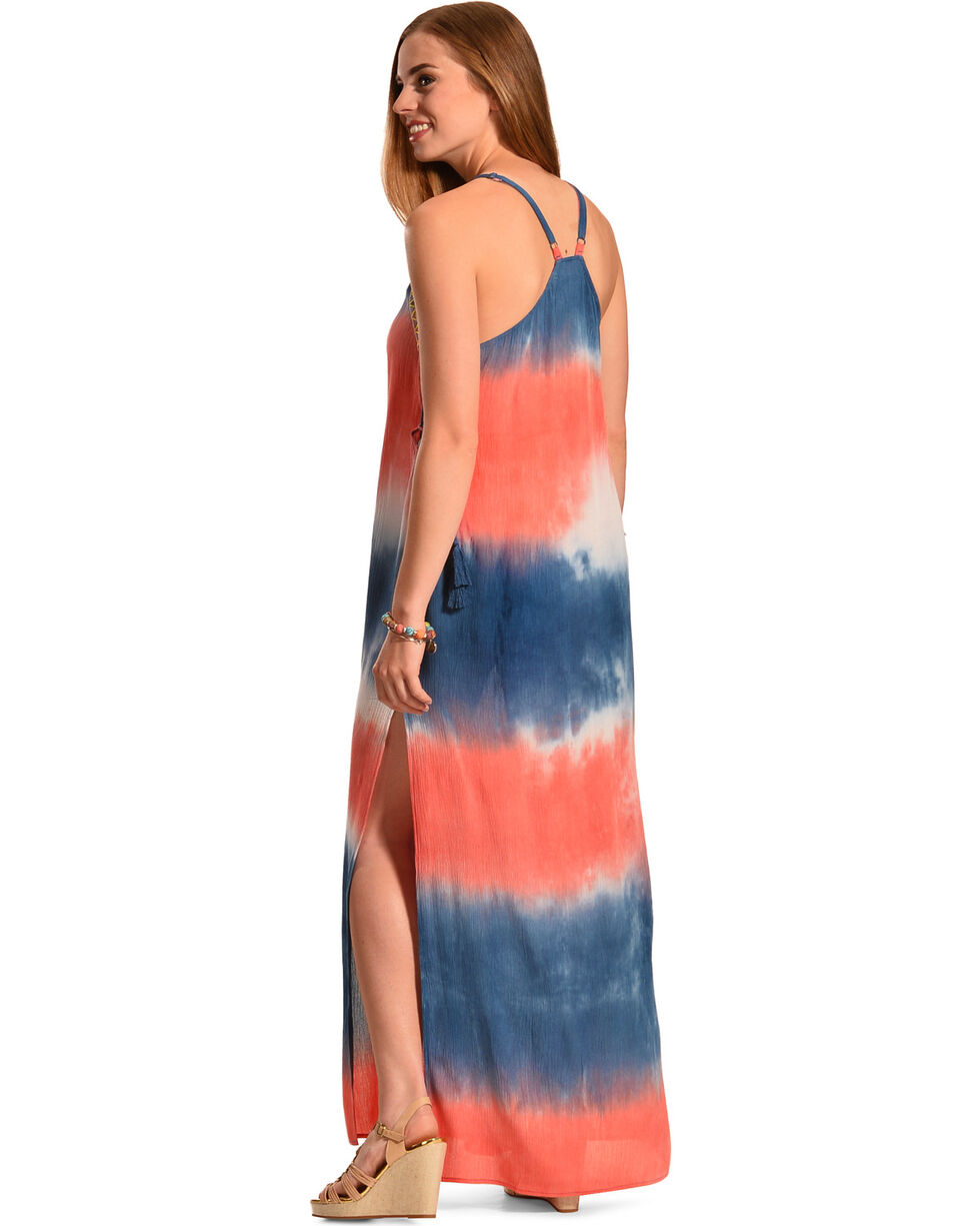 Flying Tomato Women S Tie Dye Maxi Dress Boot Barn