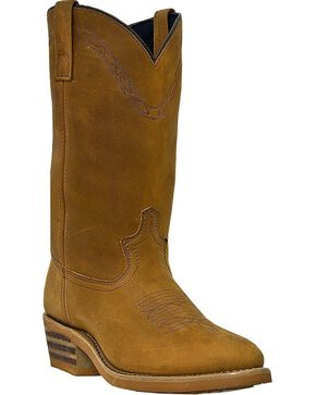 Laredo Men's Denver Western Work Boots, Brown, hi-res