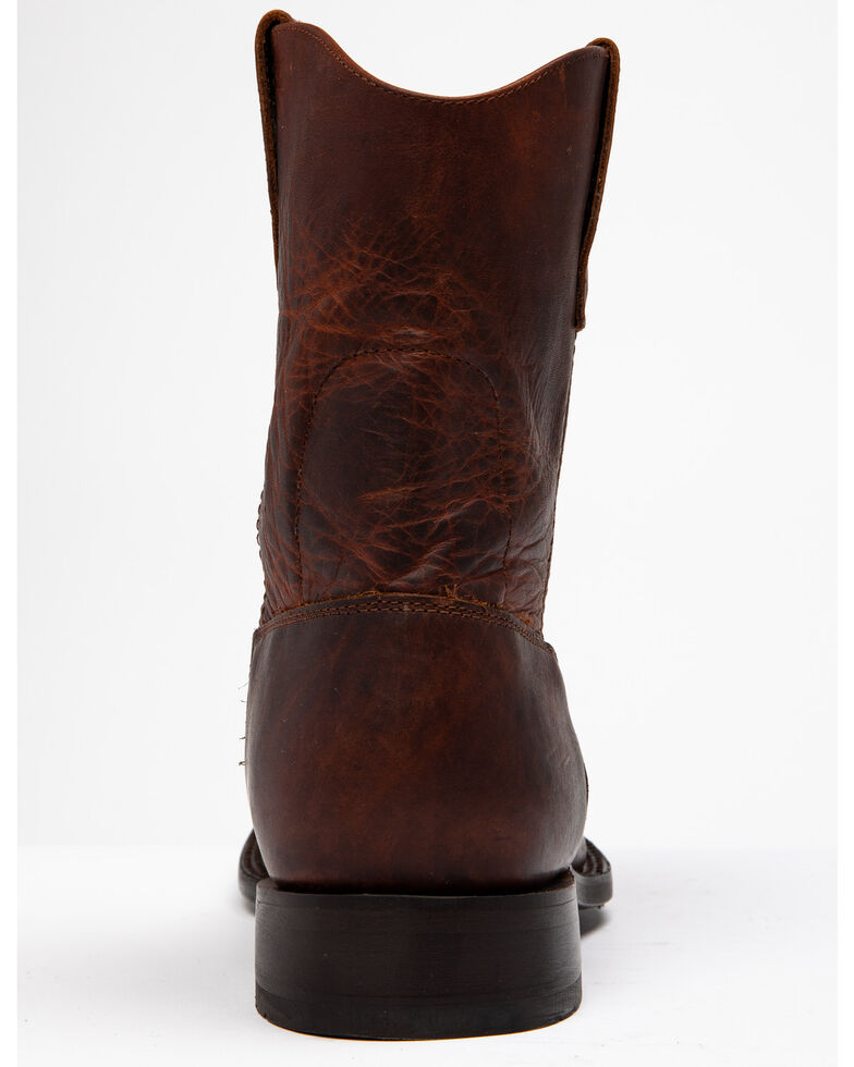 Cody James Men's Saddle Iowa Western Boots - Round Toe, Brown, hi-res