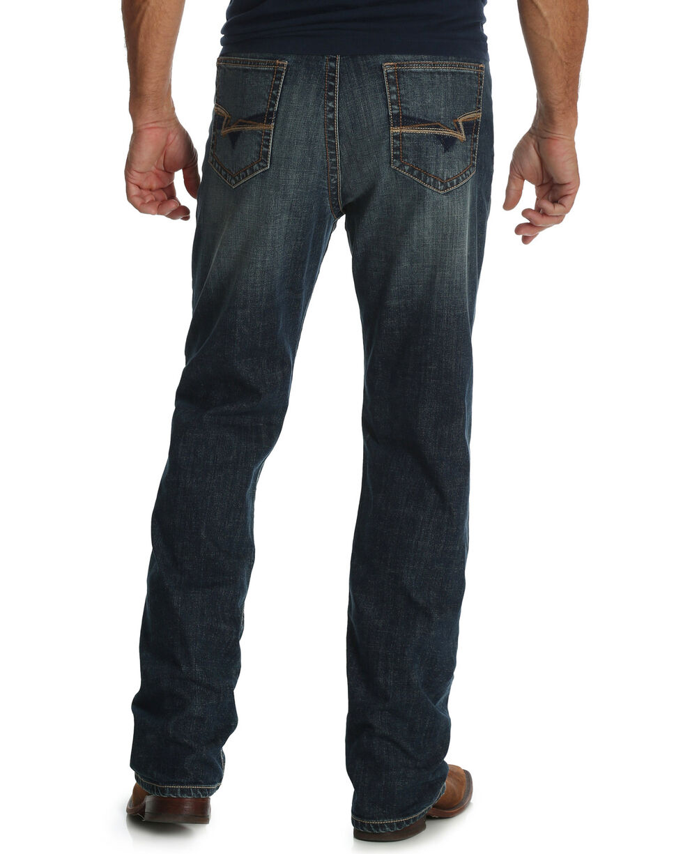 Wrangler 20X Men's No. 33 Kingman Extreme Relaxed Fit Straight Leg Jeans, Blue, hi-res