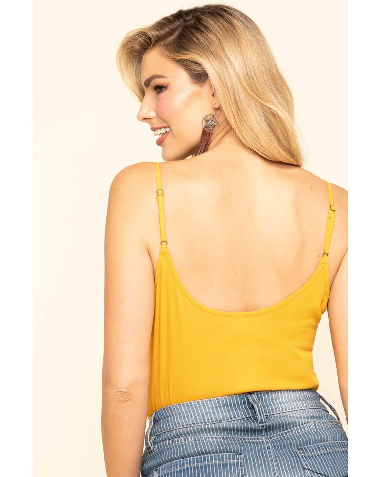 Idyllwind Women's Gone Wild Cami, Yellow, hi-res